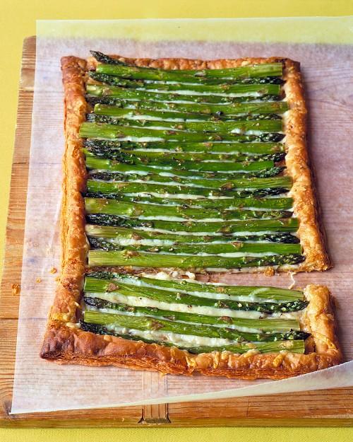 Asparagus-Gruyere-Tart