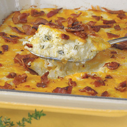 Bacon-and-Cheddar-Cheese-Casserole