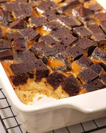Quick & Easy Recipes – Chocolate Caramel Bread Pudding