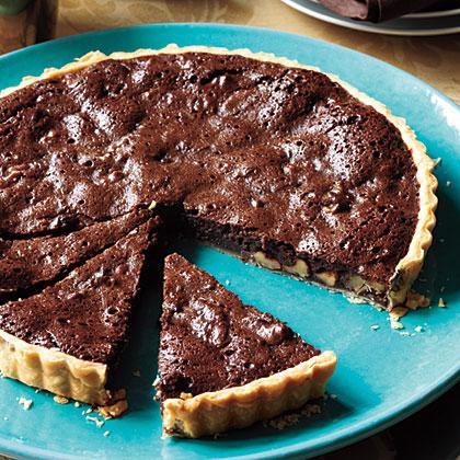 Chocolate-Walnut-Tart