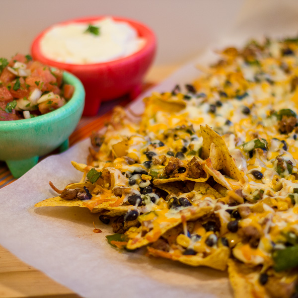 Ground-Chicken-Black-Bean-and-Corn-Nachos