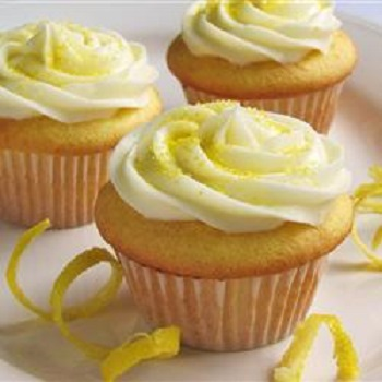 Quick & Easy Recipes – Lemon-Cream Cheese Cupcakes