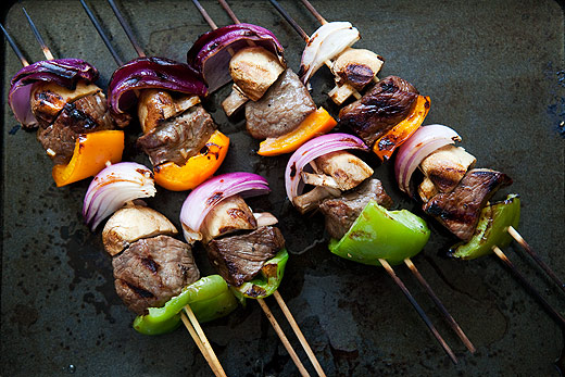 Beef-Kebabs