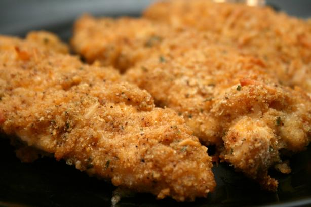 Cheddar-Garlic-Oven-Fried-Chicken-Breast