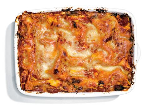 Sausage-and-Mushroom-Lasagna