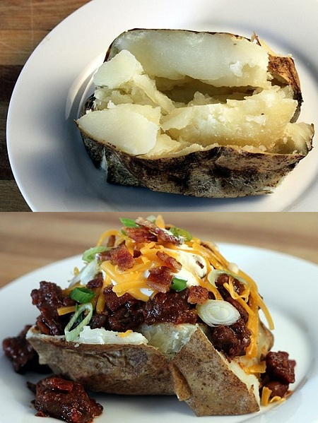 Baked Potato Bar Quick Amp Easy Recipes