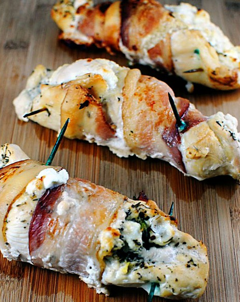 Fresh-cheese-stuffed-chicken