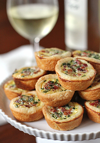 Pancetta-and-Parmesan-Tassies
