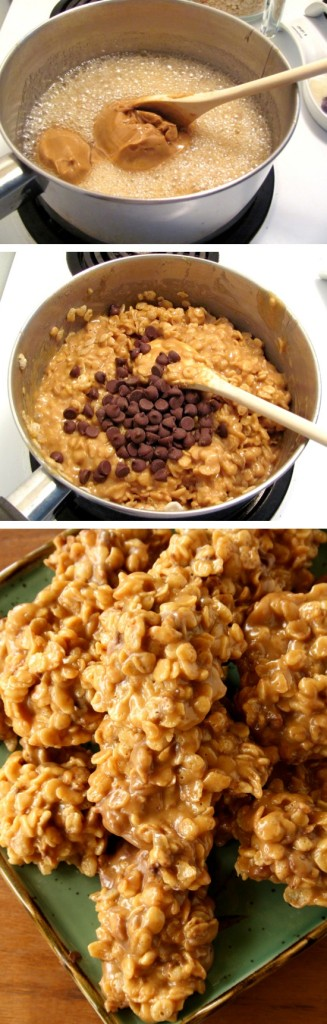 Peanut-Butter-Cereal-Cookies