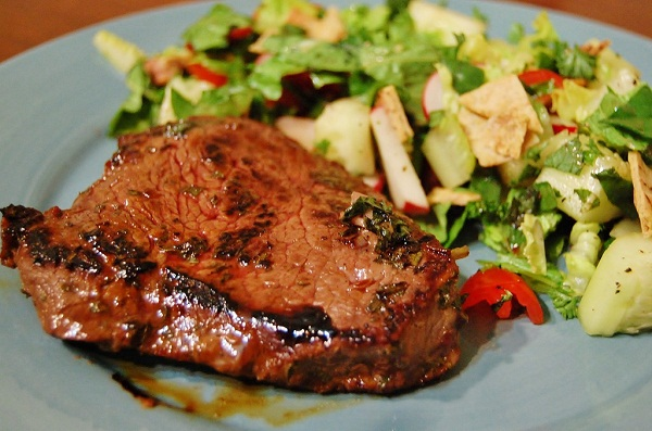 Pomegranate-Mint-Steak-Recipe