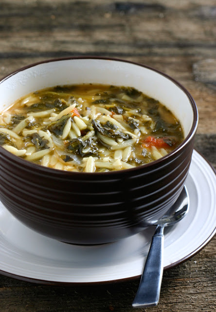 Spinach-Tomato-Orzo-Soup
