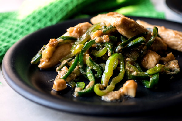 Stir-Fried-Chicken