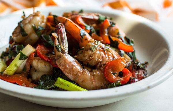 Stir-Fried-Shrimp