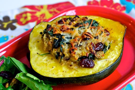 Quinoa Stuffed Acorn Squash | Quick & Easy Recipes
