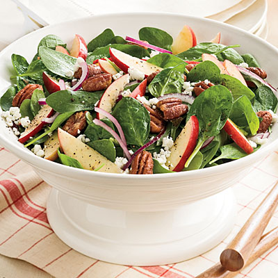 Spinach-and-Apple-Salad