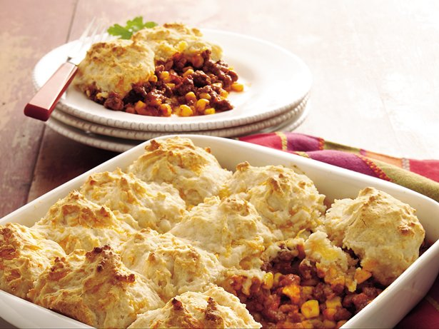 Taco-Beef-Bake-with-Cheddar-Biscuit-Topping