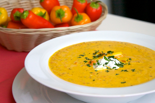 Roasted-Pepper-and-Yogurt-Soup