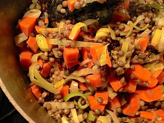 Warm-French-Lentils