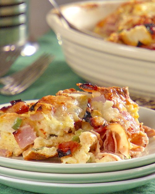 Ham-and-Cheese-Strata