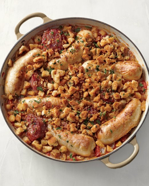 Pork-Sausages-and-White-Beans