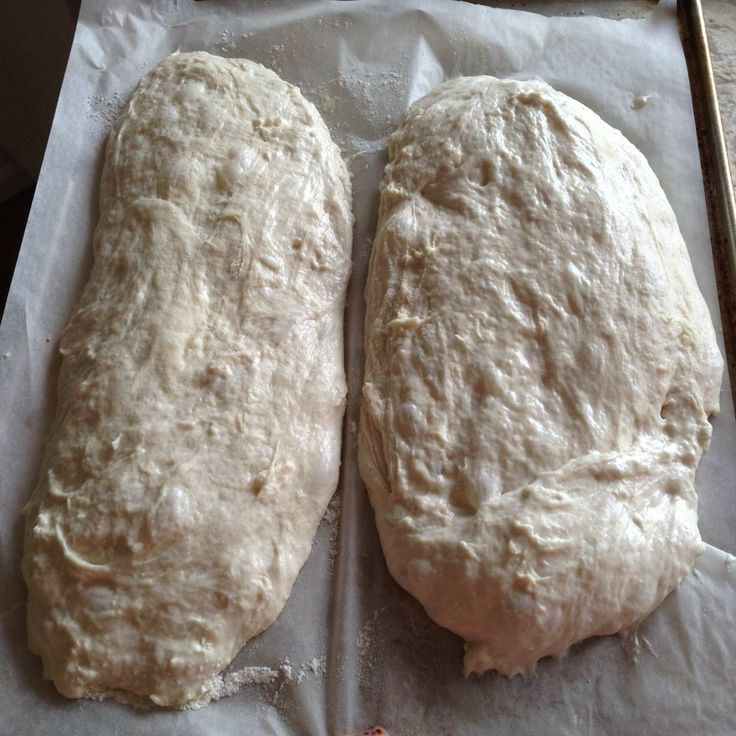 Easy Ciabatta Bread Recipe