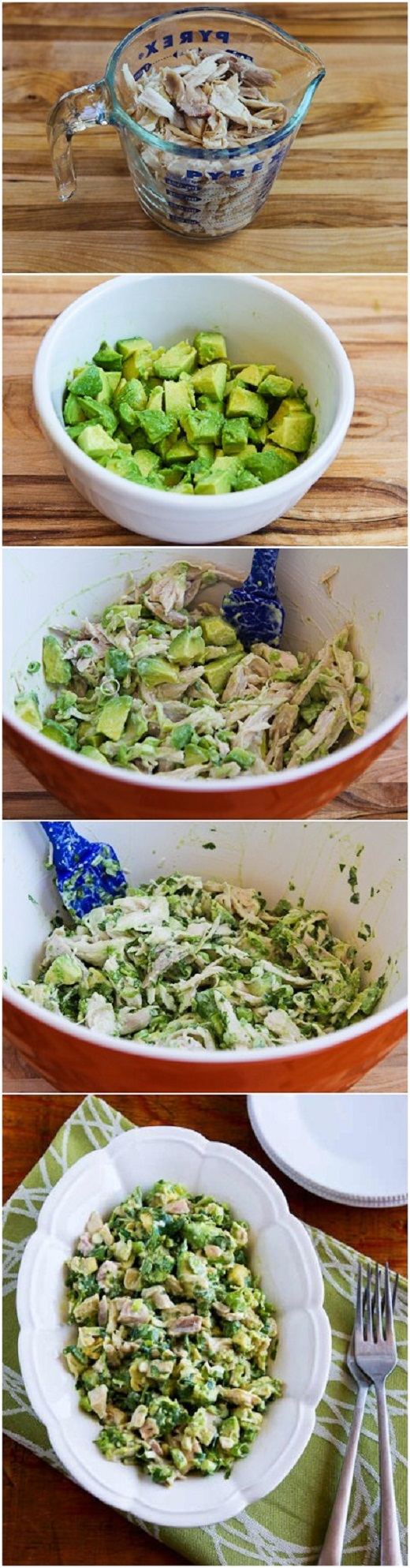 salad southwest chicken salad with avocado lime dressing cilantro lime ...