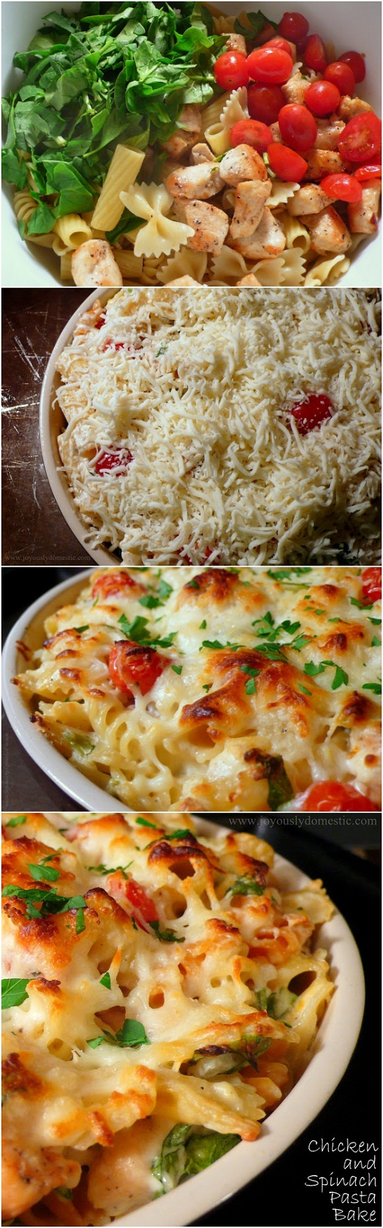 Chicken-and-Spinach-Pasta-Bake-Recipe