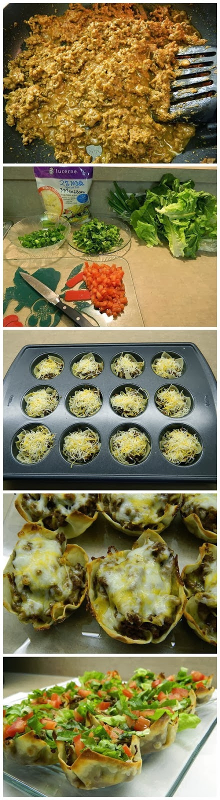 Wonton taco bites recipe quick easy recipes for Easy housewarming party food