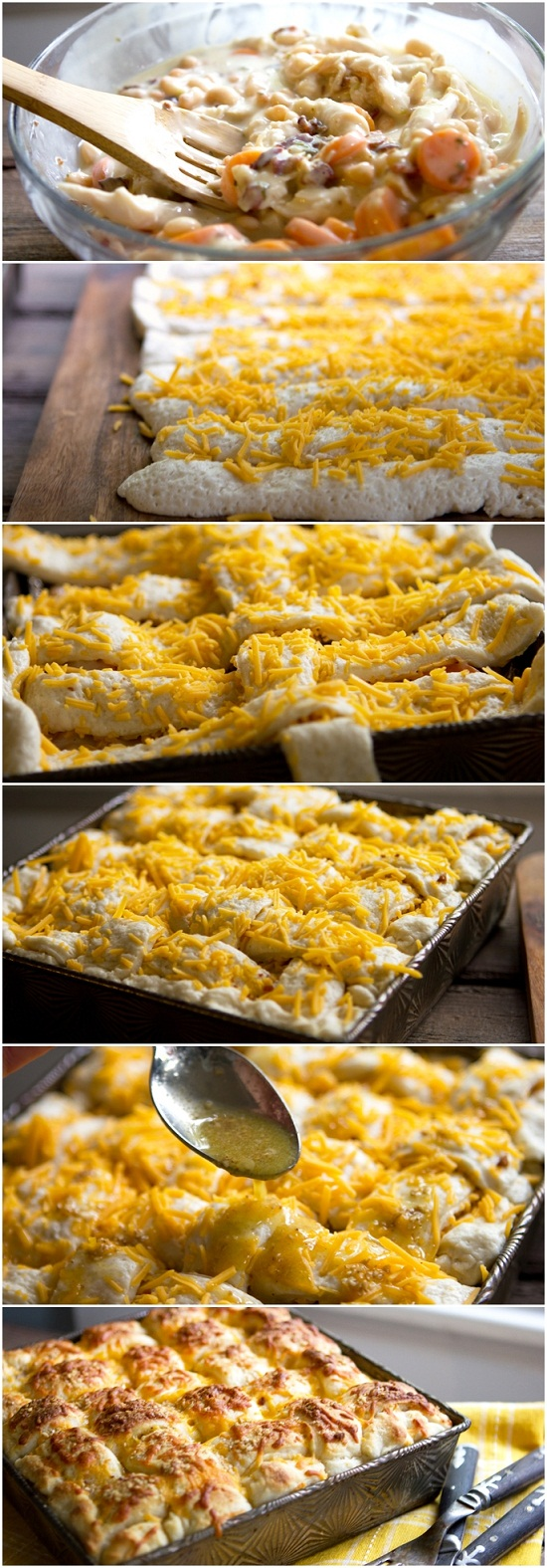 Chicken-Casserole-with-Lattice-Breadstick-Top-Recipe