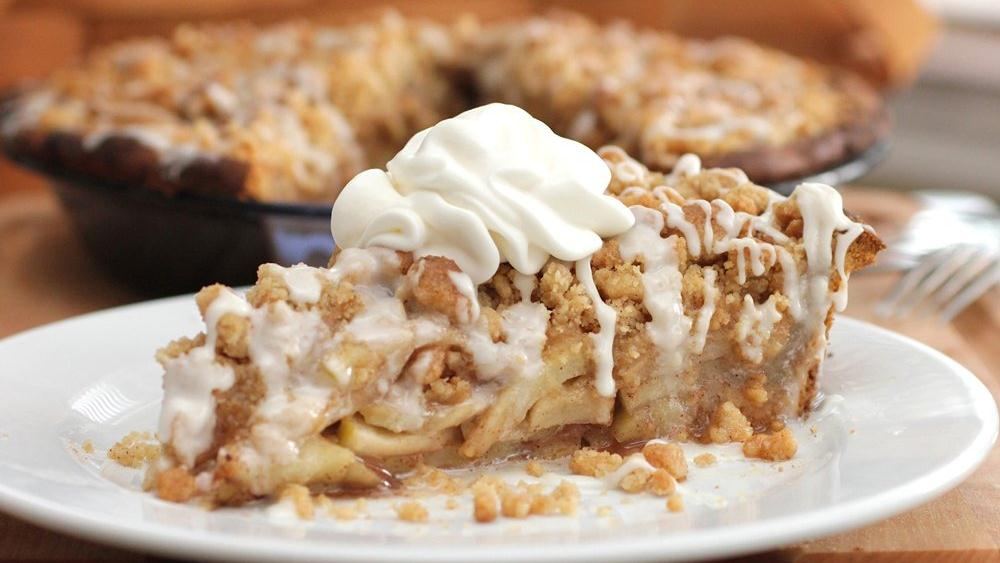 Cinnamon Roll Apple Pie Recipe
