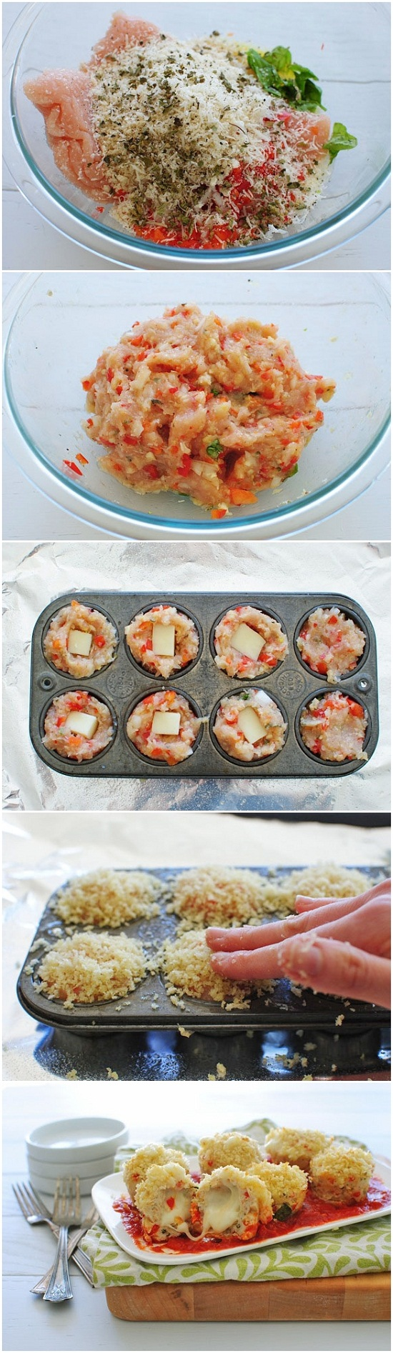 Mini-Chicken-Parmesan-Meatloaf-Cupcakes-Recipe