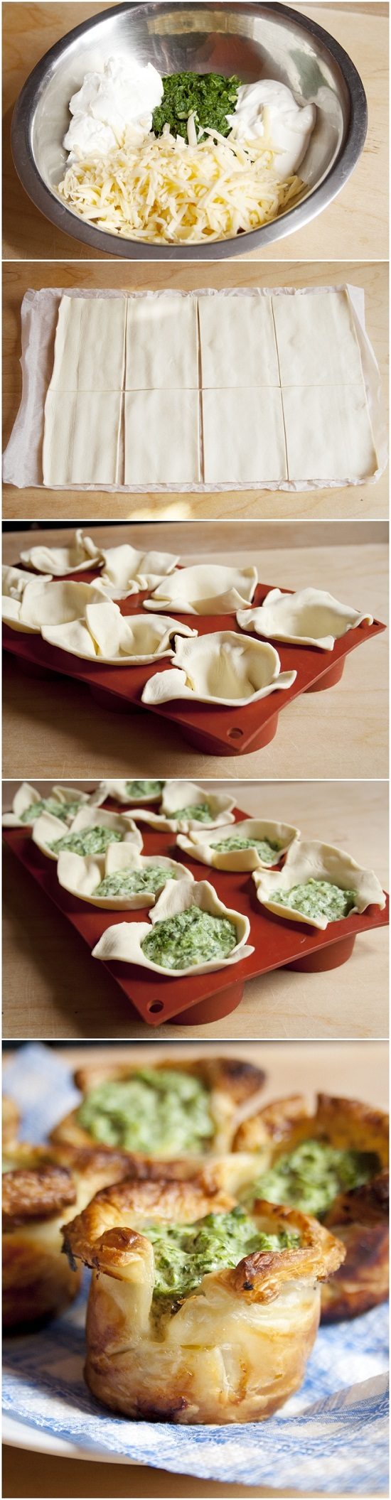 Puff-Pastry-Spinach-Cups-Recipe