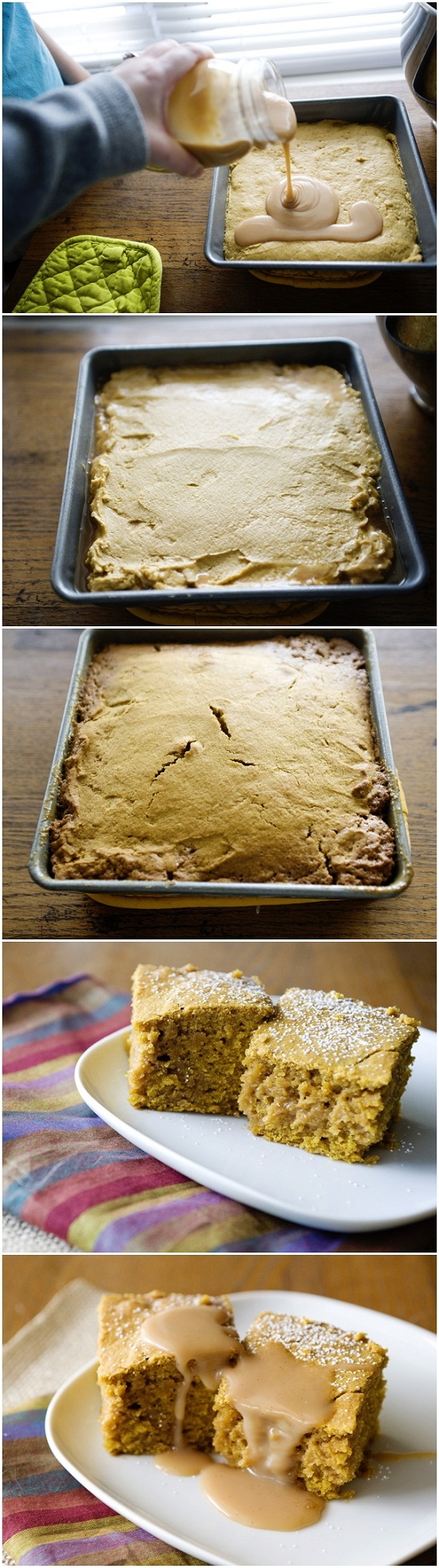 Pumpkin-Salted-Caramel-Blondies-Recipe