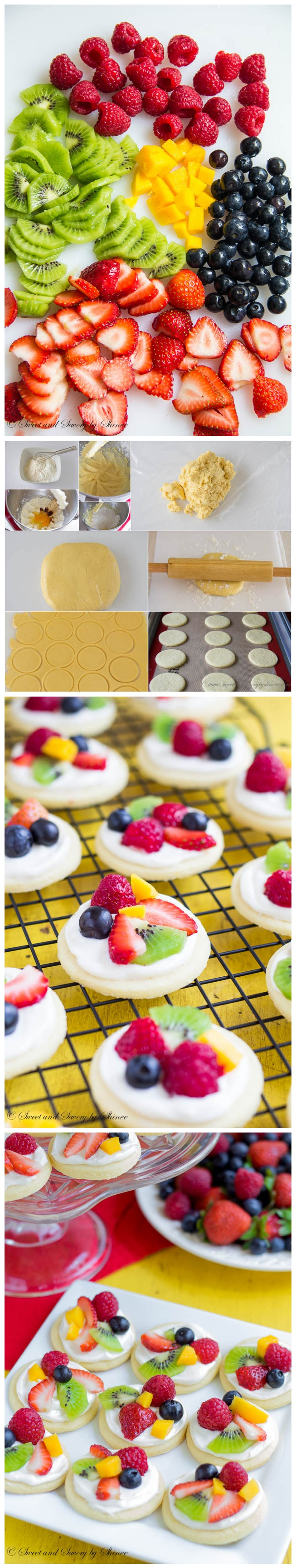 Quick & Easy Recipes – Mini Fruit Pizzas